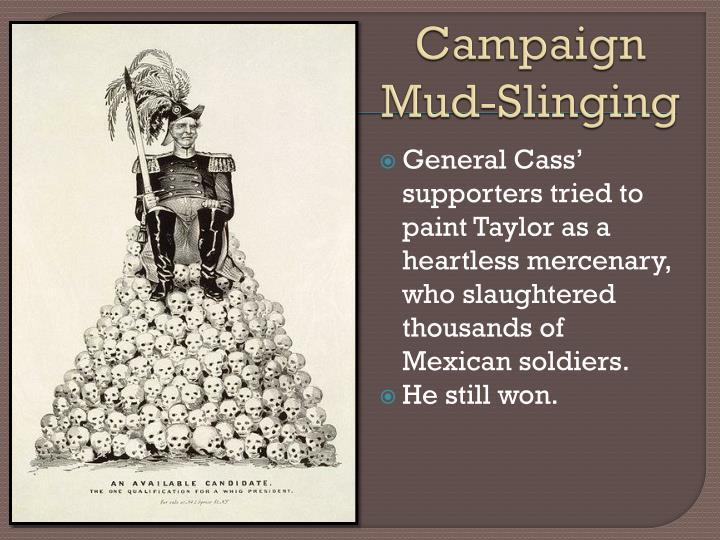 Campaign Mud-Slinging