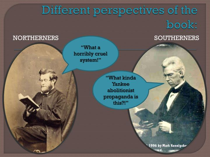Different perspectives of the book: