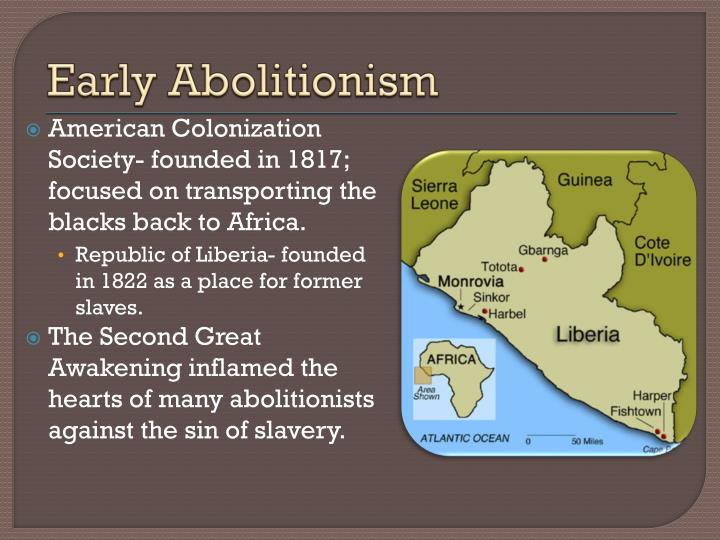 Early Abolitionism
