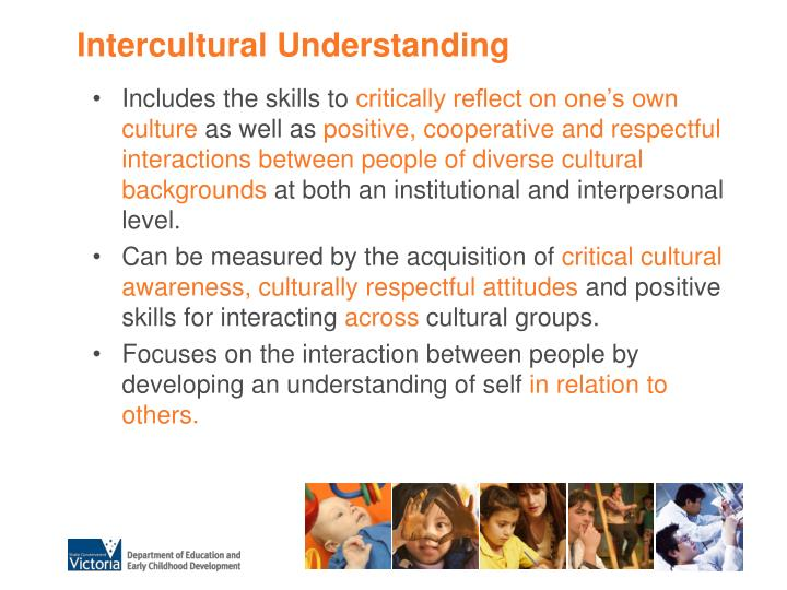 Intercultural Understanding