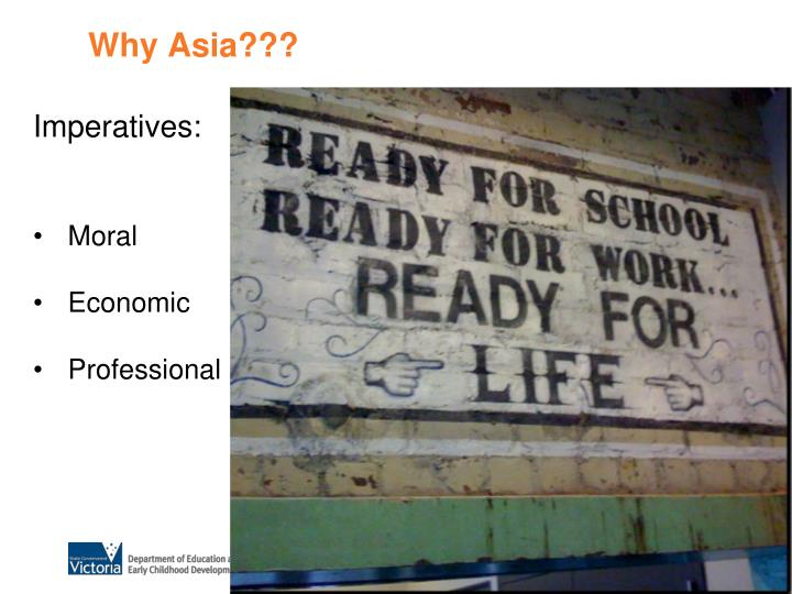 Why Asia???