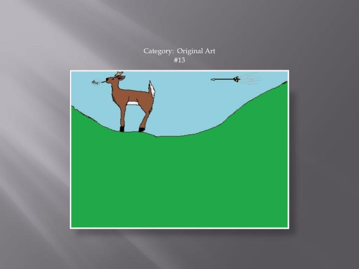 Category:  Original Art
