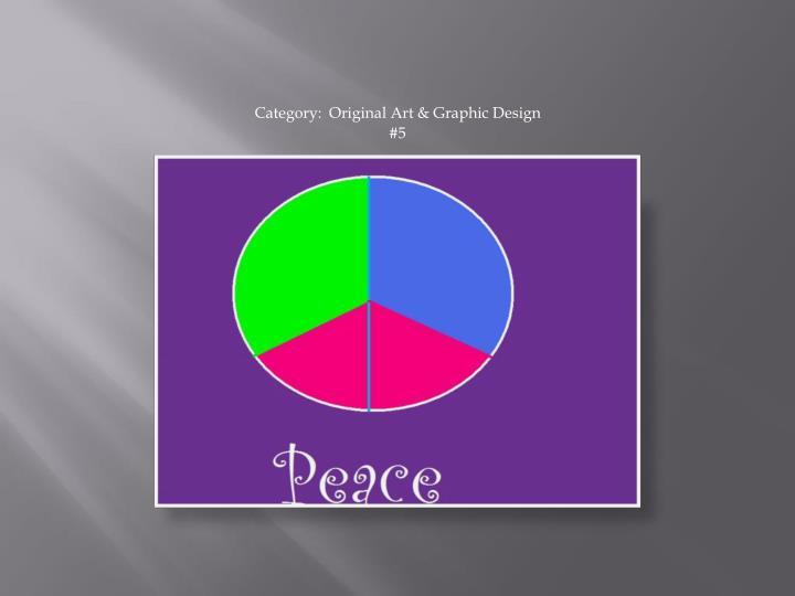 Category:  Original Art & Graphic Design