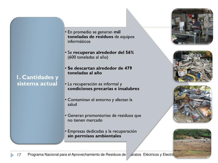 Programa Nacional para el Aprovechamiento de Residuos de Aparatos  Eléctricos y Electrónicos (RAEE)