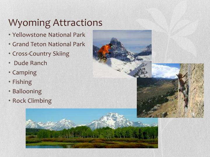 Wyoming Attractions