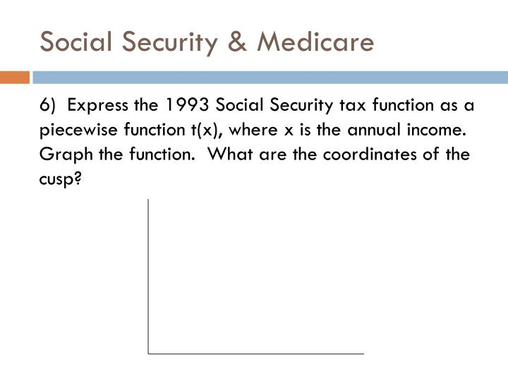 Social Security & Medicare
