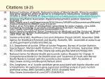 citations 18 25