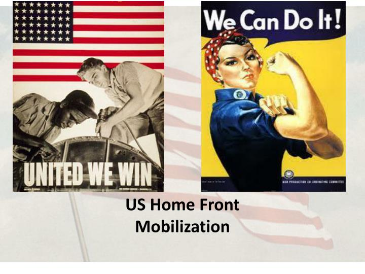 Us home front mobilization