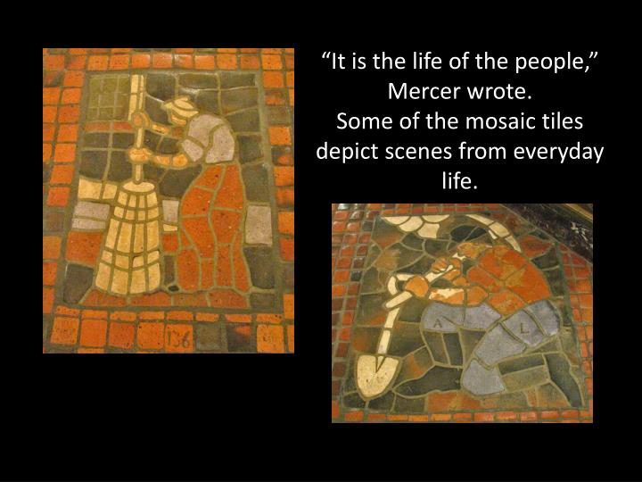 """""""It is the life of the people,"""" Mercer wrote."""