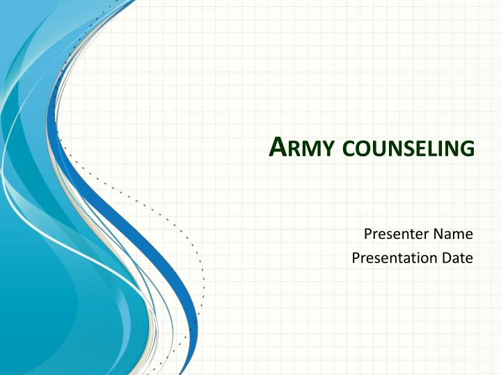 Army counseling