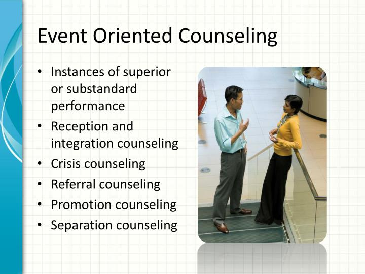 Event Oriented Counseling