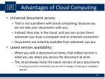 advantages of cloud computing4