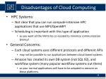 disadvantages of cloud computing4