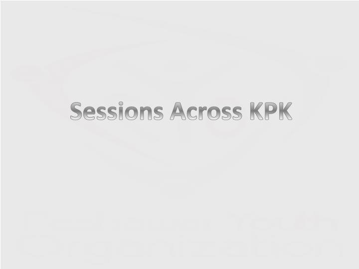 Sessions Across KPK