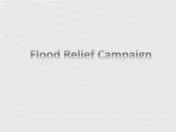 Flood Relief Campaign