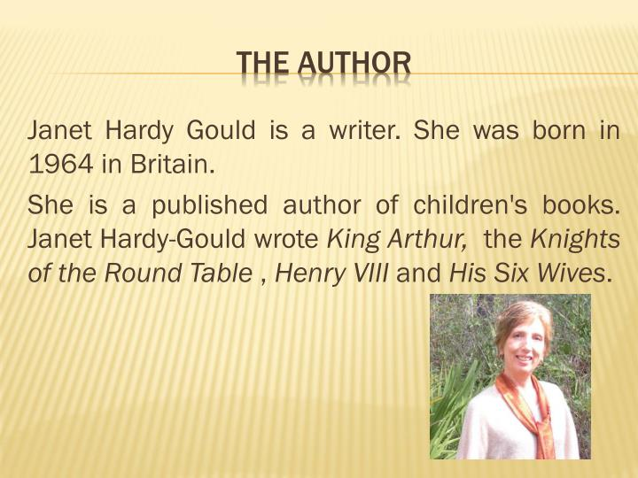 Janet Hardy Gould is a