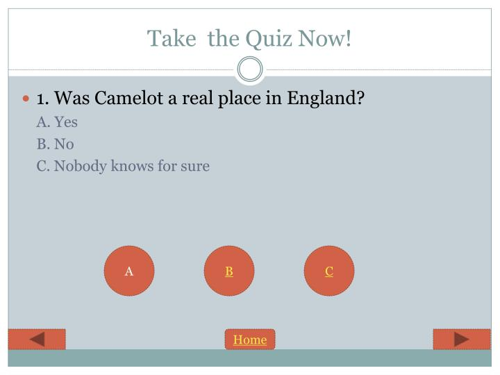 Take  the Quiz Now!