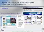ibm tales translingual automatic language exploitation system project 2 2