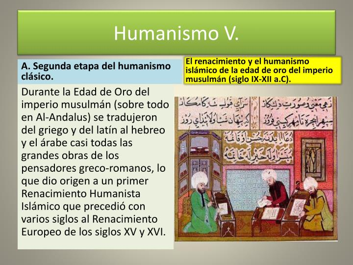 Humanismo V.