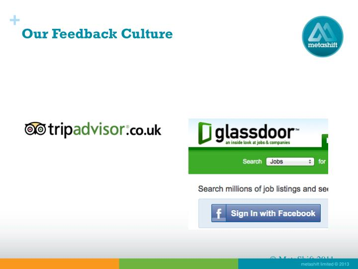 Our Feedback Culture