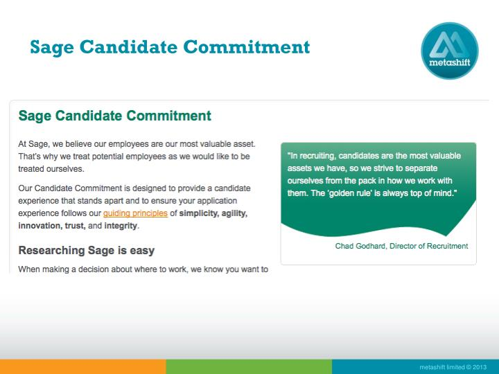 Sage Candidate Commitment
