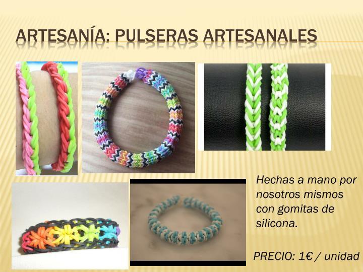 Artesanía: Pulseras artesanales