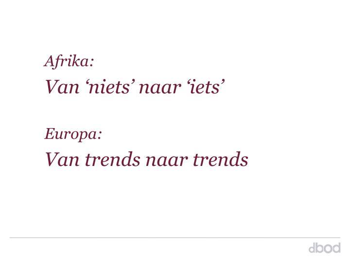 Afrika: