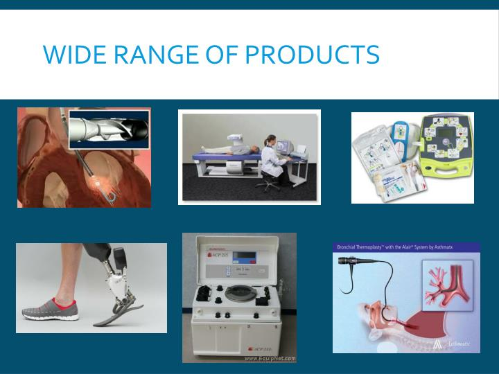 Wide Range of Products