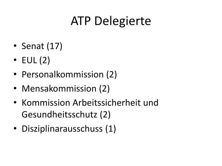 ATP Delegierte