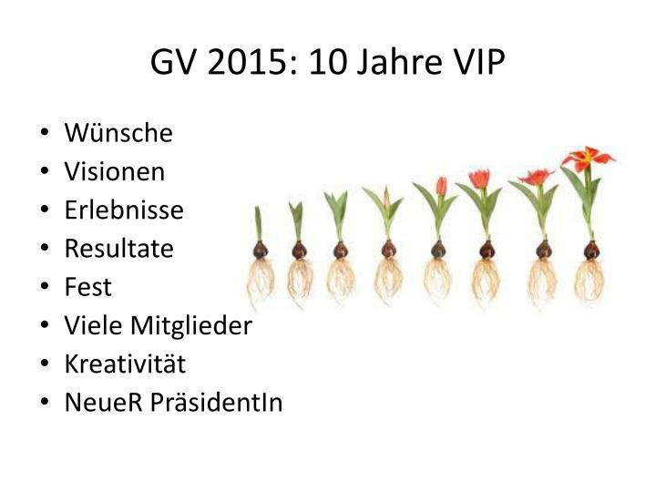 GV 2015: 10