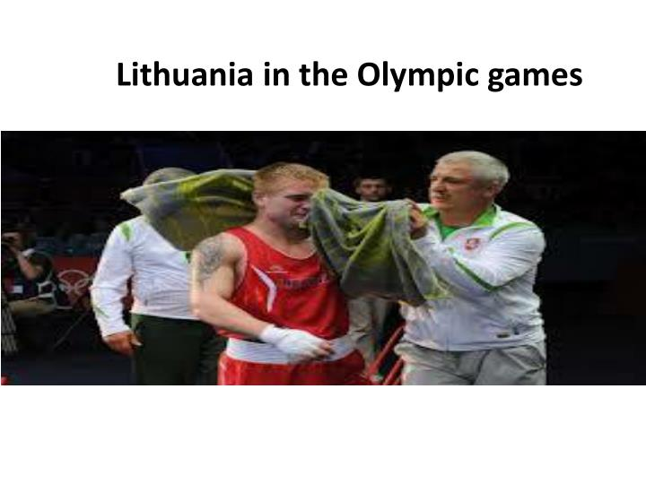 Lithuania in the Olympic games