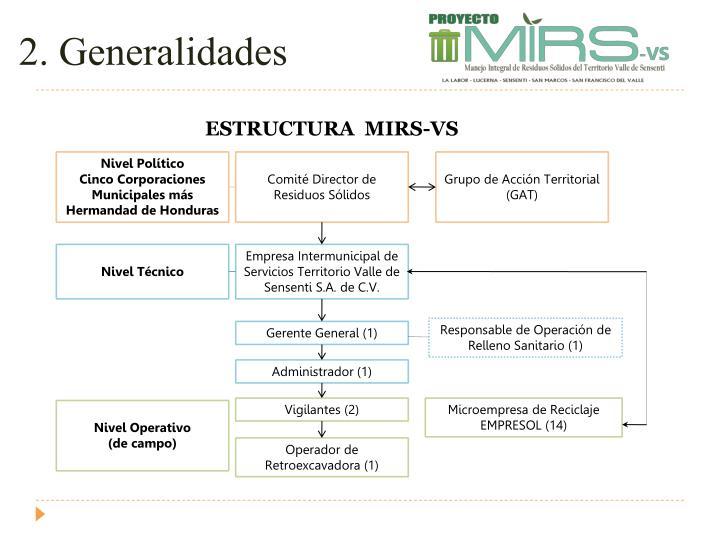 2. Generalidades