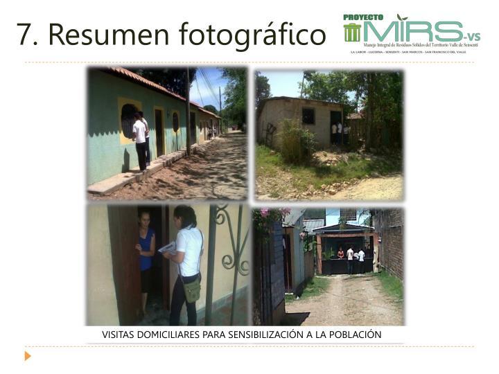 7. Resumen fotográfico