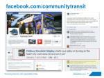 facebook com communitytransit