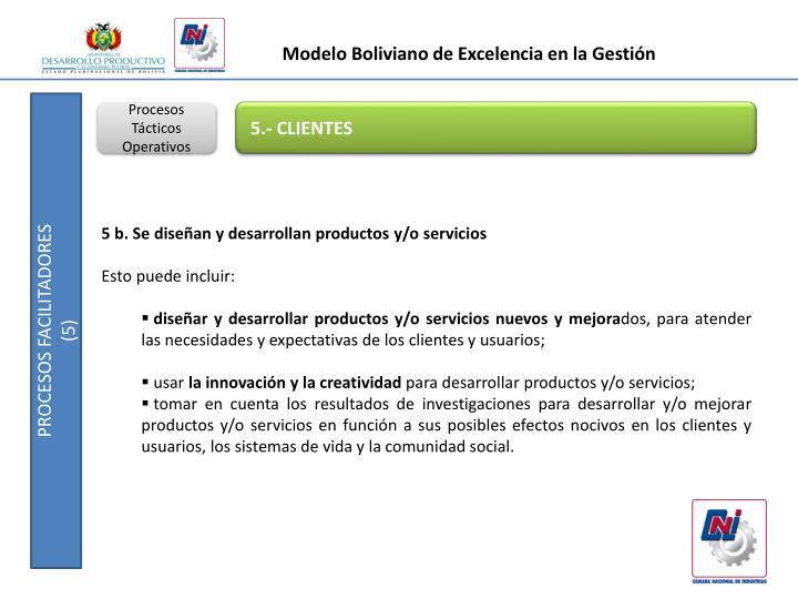 Modelo Boliviano de Excelencia en la Gestión