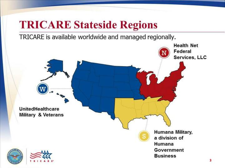 TRICARE Stateside Regions