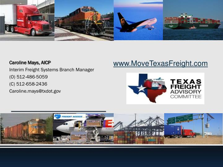 www.MoveTexasFreight.com