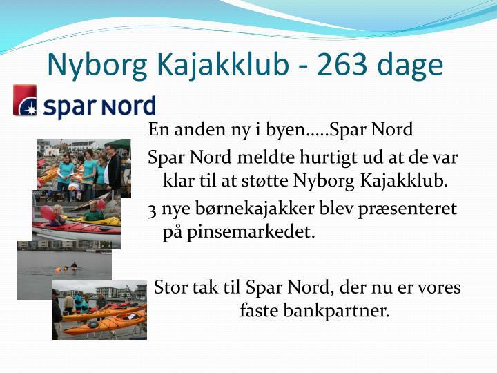 Nyborg Kajakklub - 263 dage