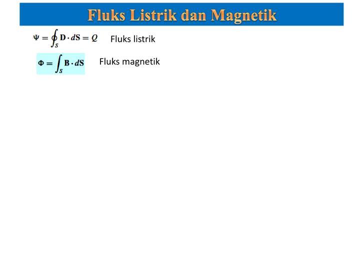 Fluks Listrik dan Magnetik