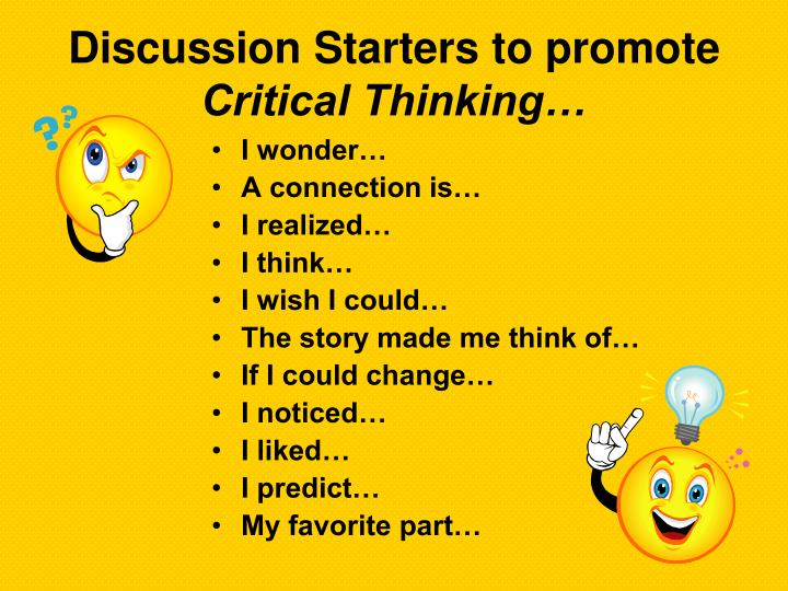 Discussion Starters to promote