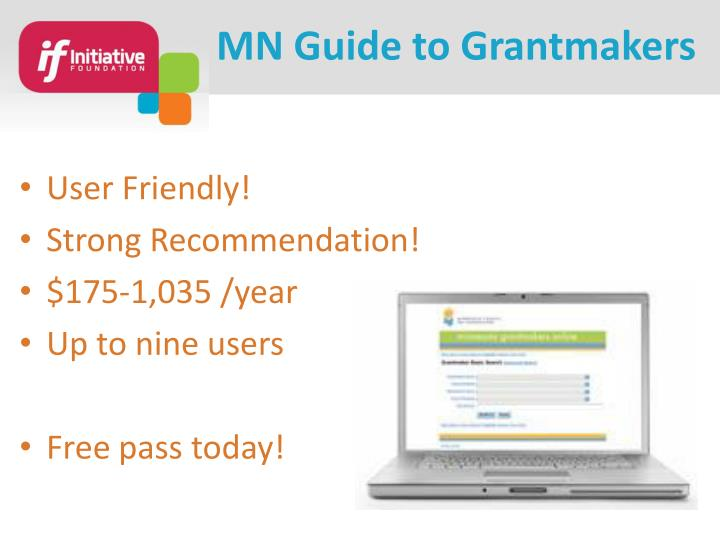 MN Guide to Grantmakers