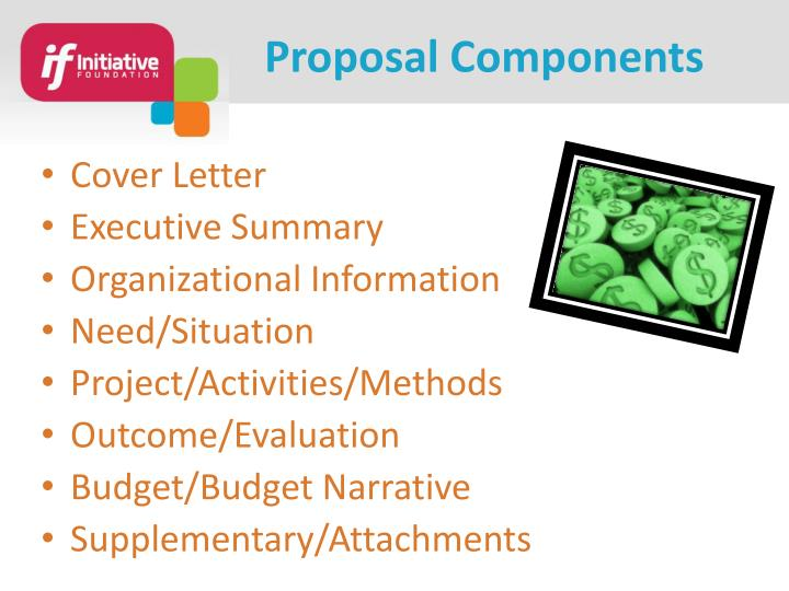 Proposal Components