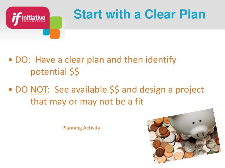 Start with a Clear Plan