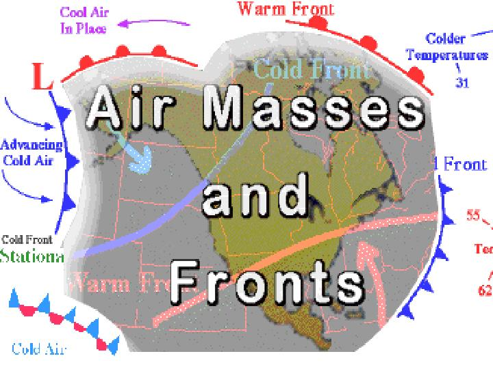 Weather patterns and severe storms ch 20