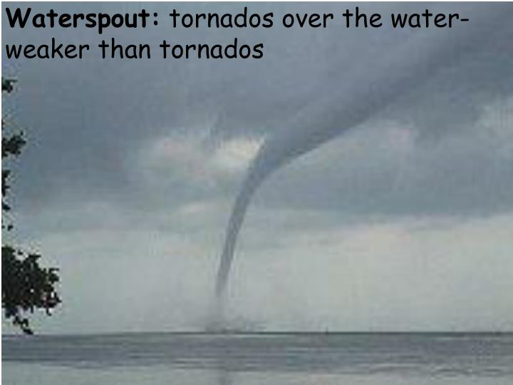Waterspout: