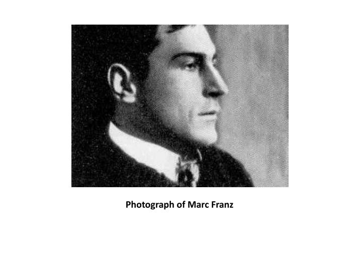 Photograph of marc franz