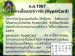 1987 hypercard