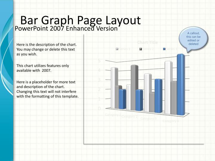 Bar Graph Page Layout