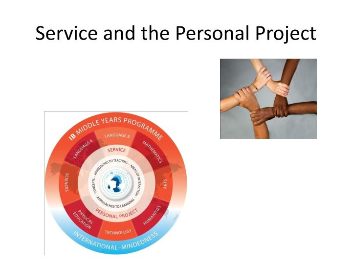 Service and the Personal Project