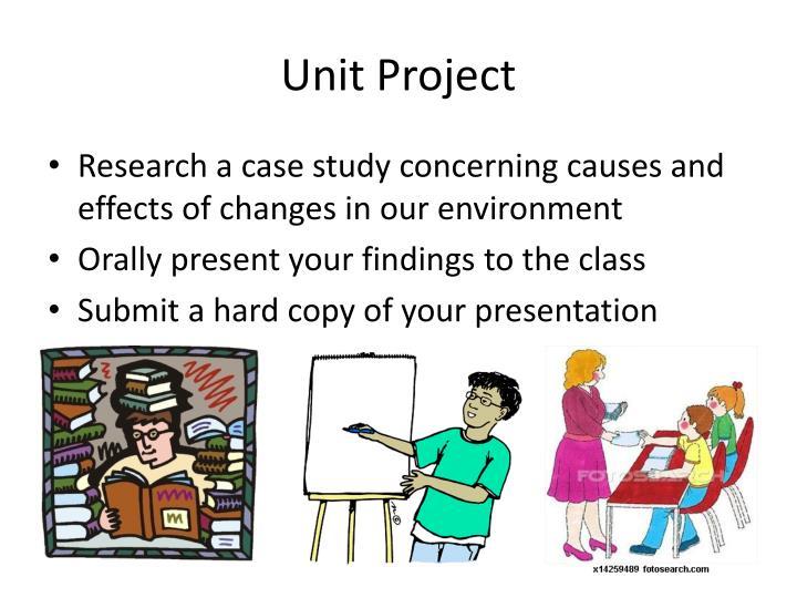 Unit Project